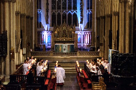 65. Evensong by Candlelight - Choir of Leeds Minster (UK)